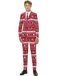 OppoSuits Trajes de Navidad Divertidos - Traje Completo ...