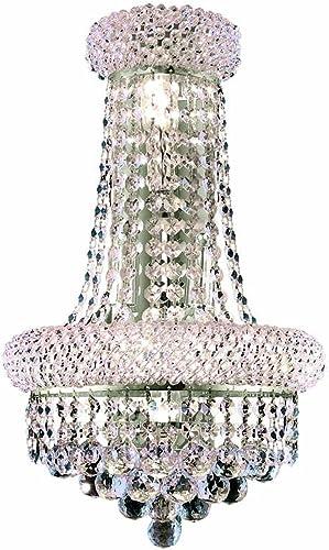 Elegant Lighting 1800W12SC/RC Primo 17-Inch High 4-Light Wall Sconce