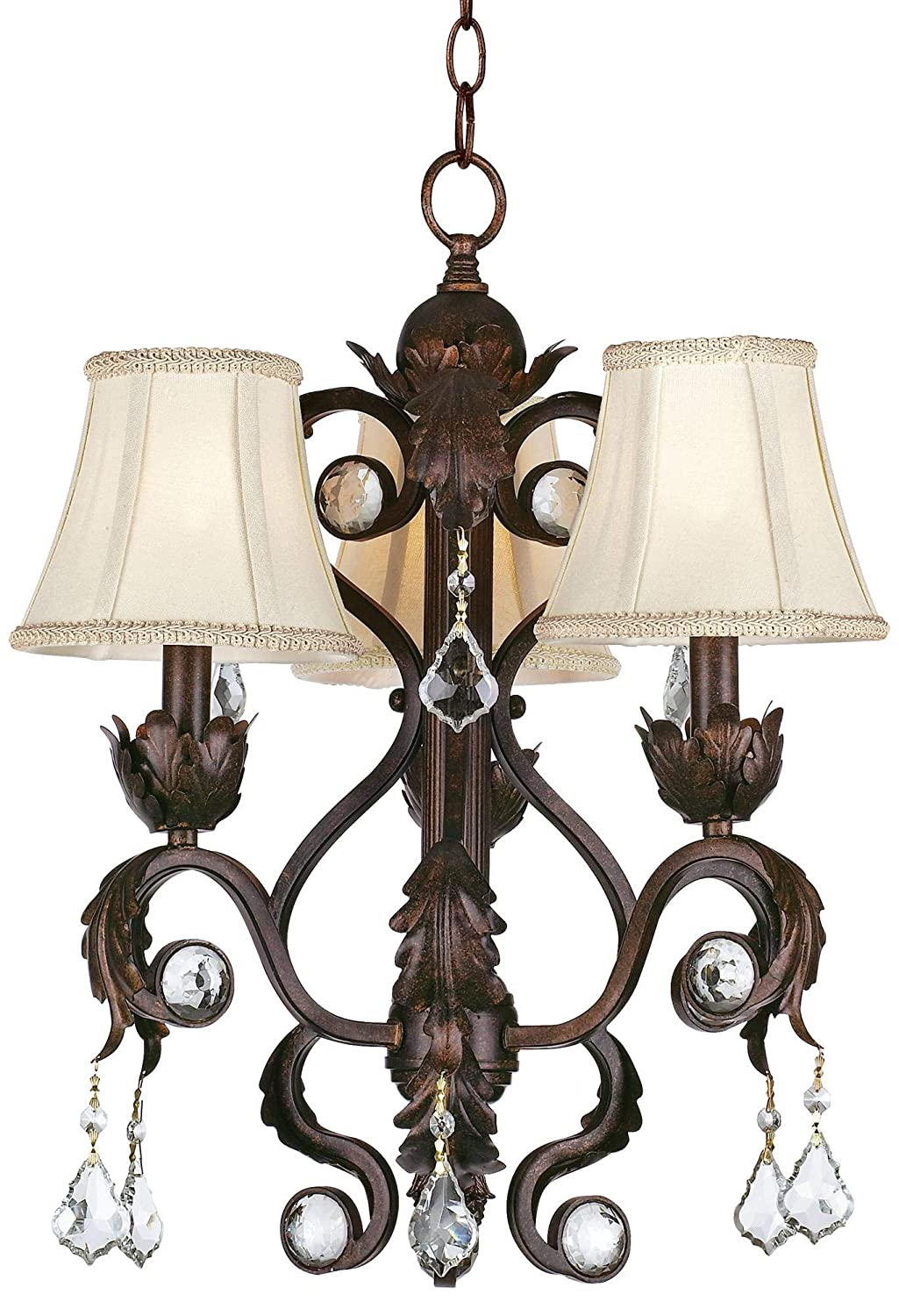 Kathy Ireland Ramas de Luces Bronze 17 Wide Chandelier