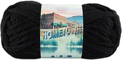 Lion Brand Hometown USA Yarn-Oakland Black 135-153