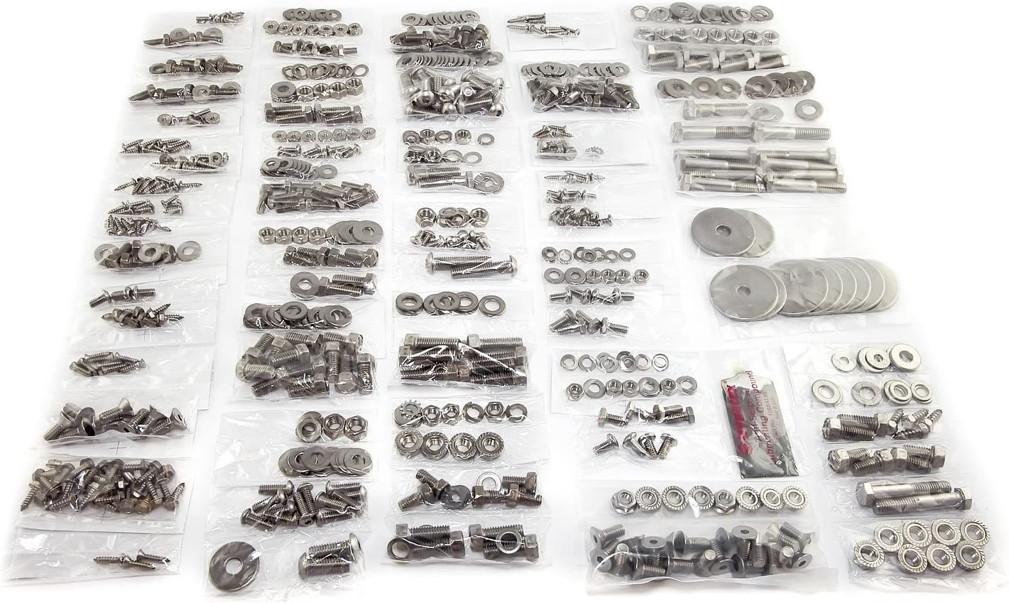 Omix-Ada 12215.05 Body Fastener Kit