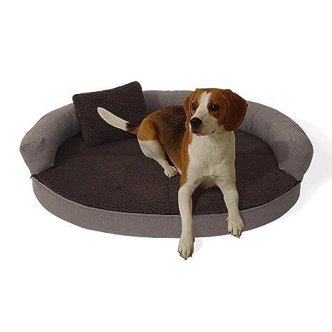"""Cama para perro """"Peppo"""", de Homeoutfit24, lavable, ortopédica y antideslizante"""