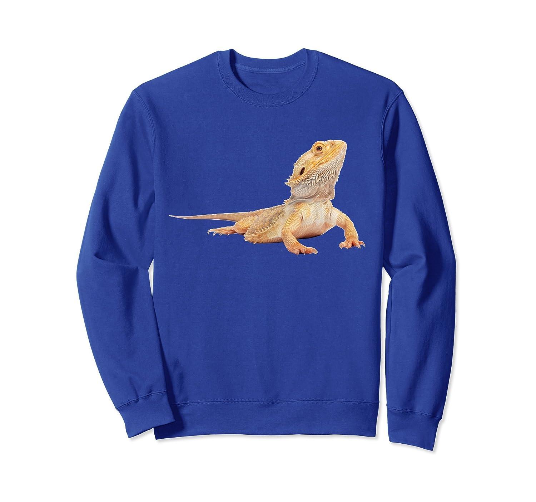 Bearded Dragon Sweatshirt Lizard Pullover Sweatshirt-TH