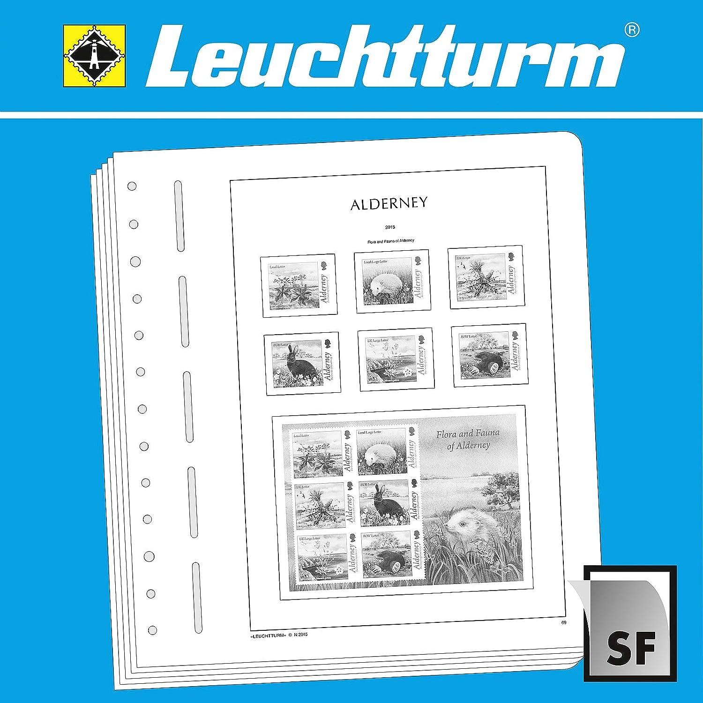 el precio más bajo Leuchtturm 327597 SF-hojas SF-hojas SF-hojas preimpresas Alderney 1983-2009  están haciendo actividades de descuento