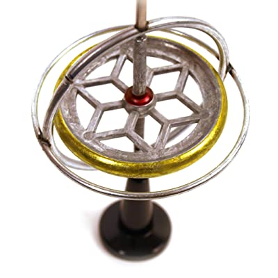 Gyroscope Toy With Pedestal: Toys & Games