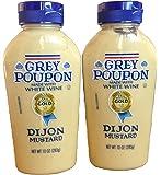 Grey Poupon, Dijon Mustard, 10oz Squeeze Bottle (Pack of 2)
