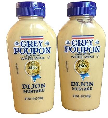 amazon com grey poupon dijon mustard 10oz squeeze bottle pack