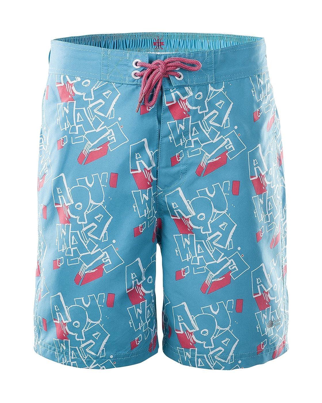 4f1e56e9761e AquaWave Pantalones Cortos de Baño para Niños - Ligero, de Secado ...