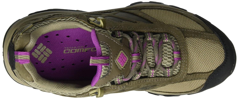 Columbia Damen Terrebonne Outdry Trekking-& Wanderhalbschuhe Braun Braun Braun (Pebble, Intense Violet 227) c21341