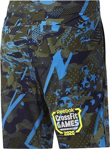 Hombre Reebok RC Austin II Games Pantal/ón Corto popgrn M
