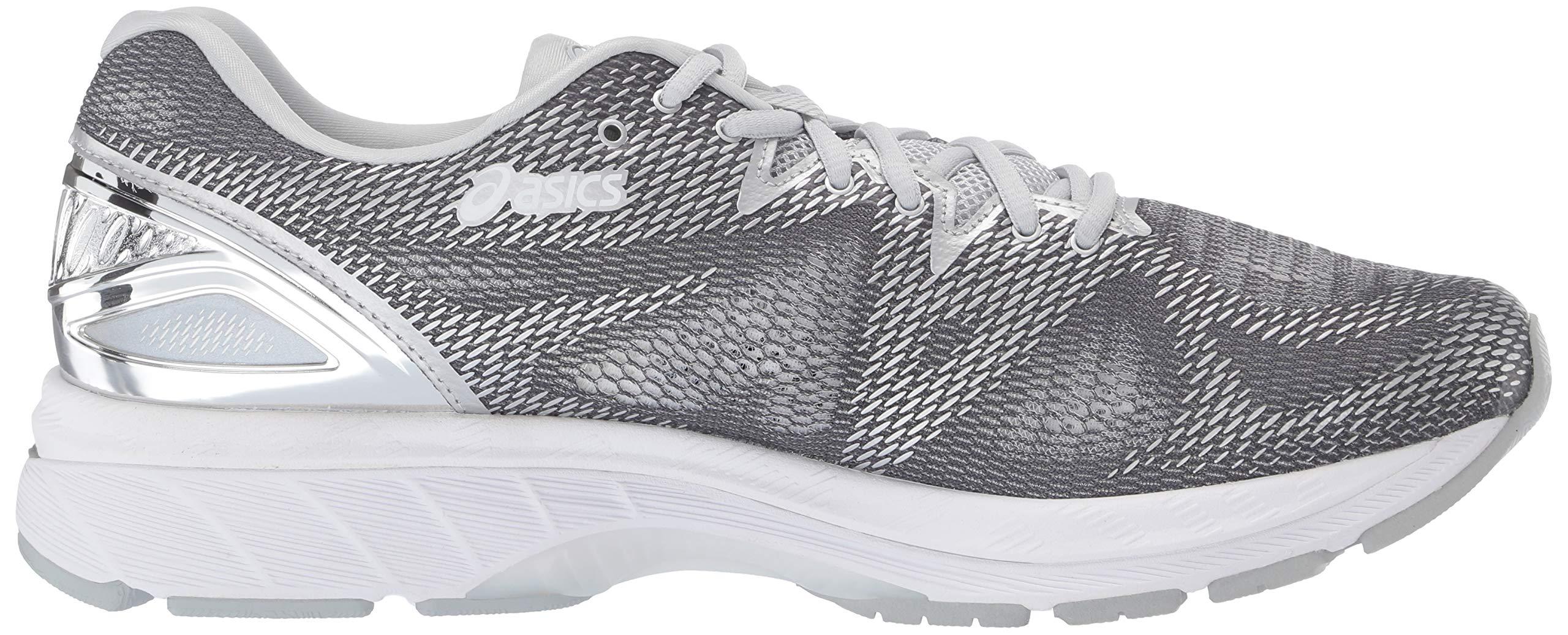ASICS Mens Fitness/Cross-Training Trail Running Shoe, Carbon/Silver/White, 7 Medium US by ASICS (Image #6)