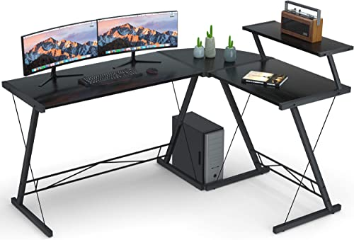Coleshome L_Shaped Desk