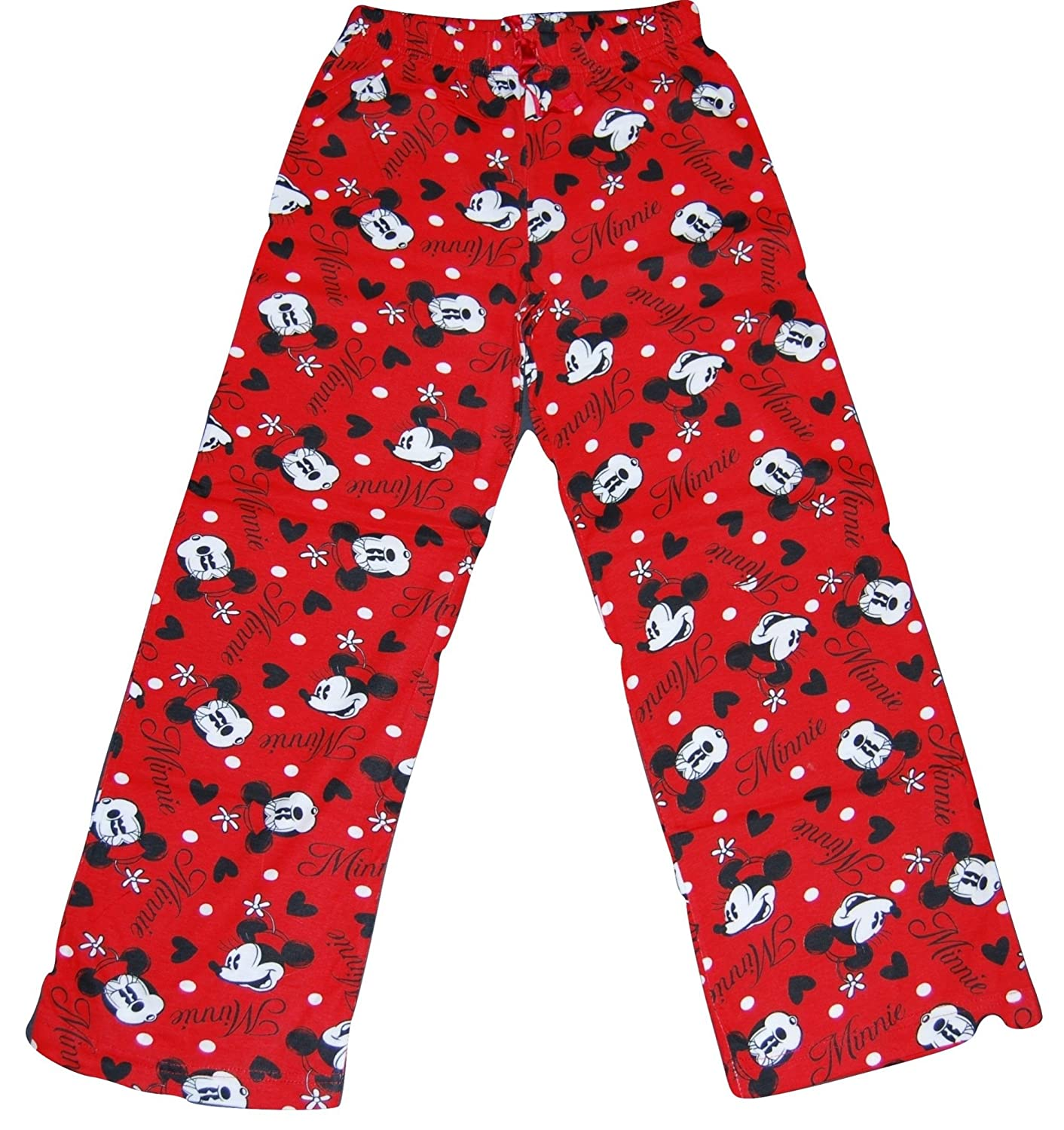Girls Official Minnie Mouse Character Lounge Wear Pants Pyjama Bottoms Sleepwear nightwear