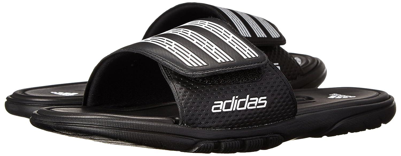 fc133574d1c7 adidas Performance Men s adiLight Slide SC Sandal Black White Black 5 D(M)  US  Amazon.in  Shoes   Handbags
