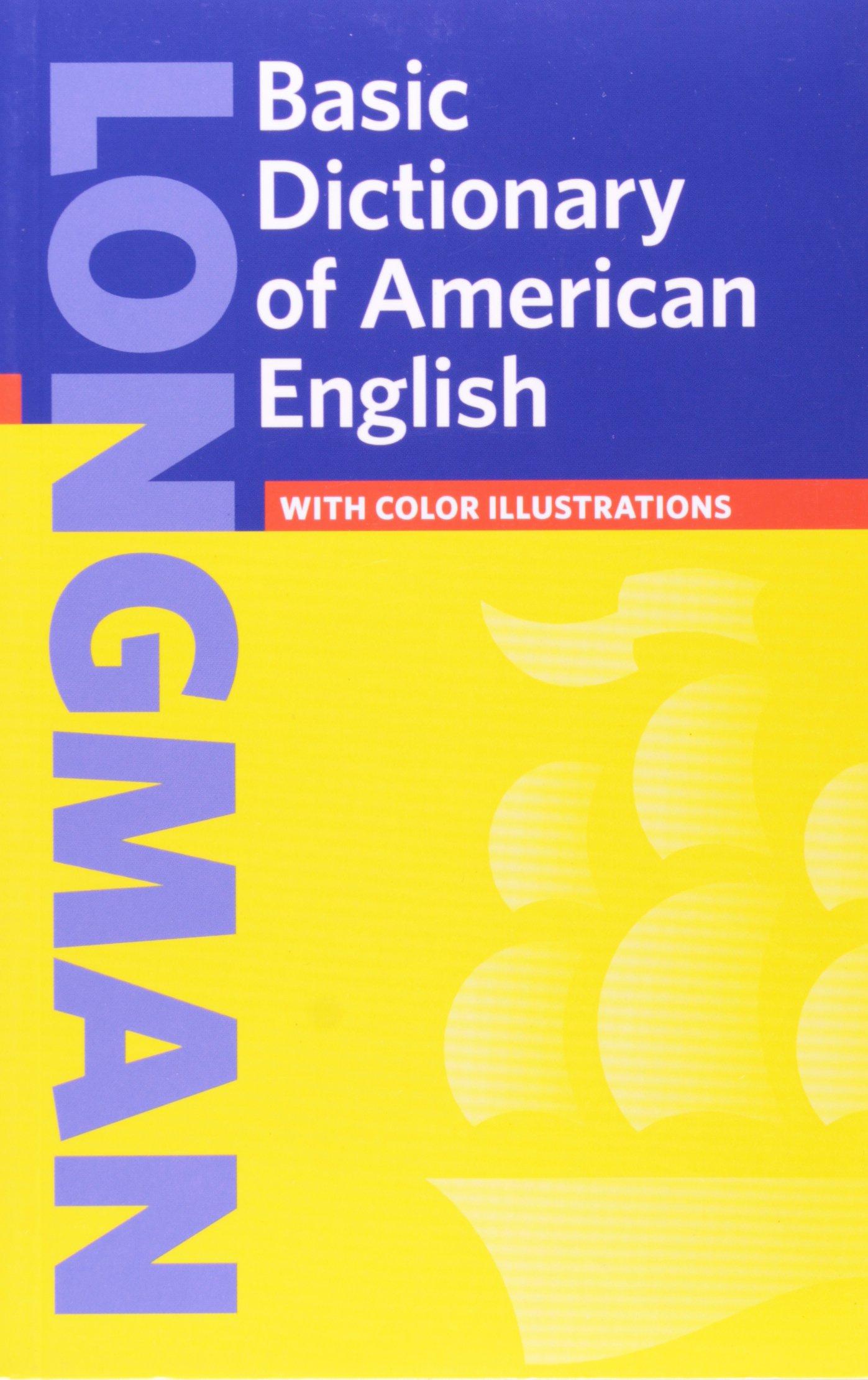 Amazon.com: Longman Basic Dictionary of American English (2nd Edition)  (9780582332515): Pearson Education: Books
