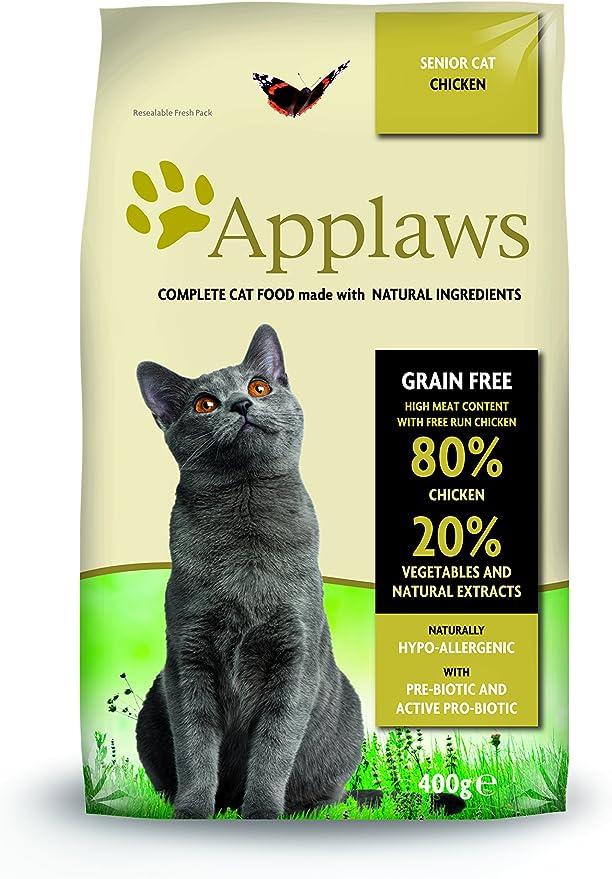 Applaws Comida seca para gatos, pollo /senior, 7.5 kg: Amazon.es ...