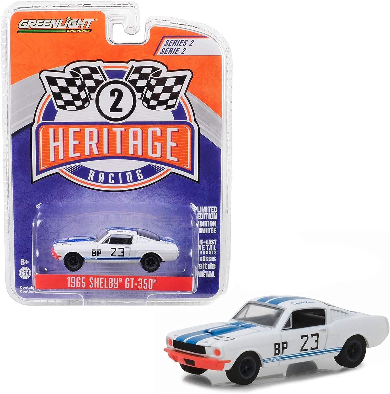 1968 Ford Mustang Heritage racing serie 2 GreenLight 1:64 OVP nuevo