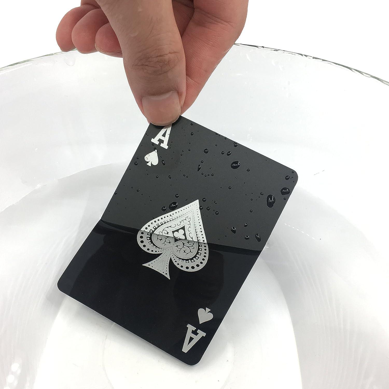Plástico limpio resistente al agua juego de cartas UNO mazo ...