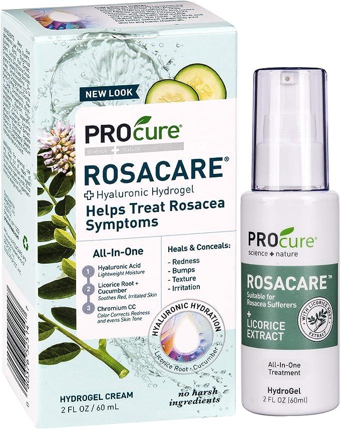 Amazon Com Procure Rosacare Gel 2 Oz Medicated Skincare Treats
