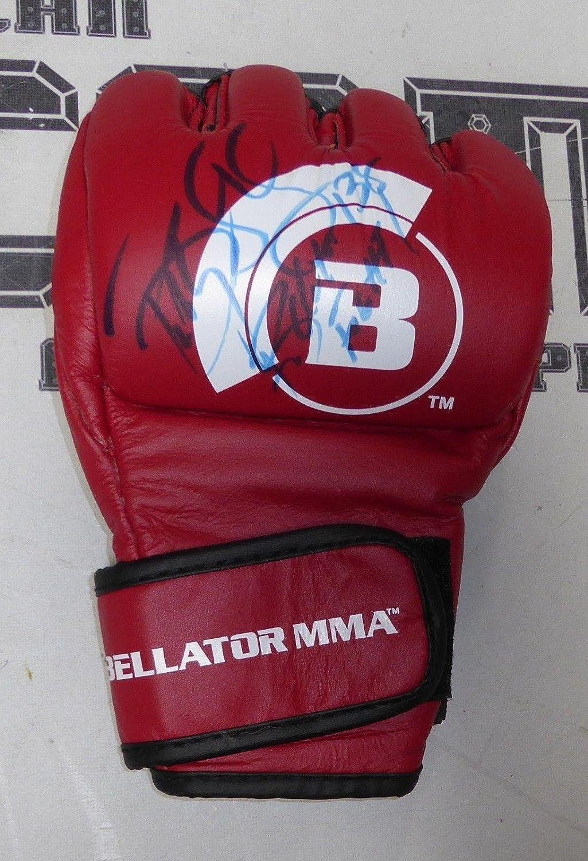 Bobby Lashley Signed Bellator 138 Fight Worn Used Glove Coa Wwe Tna
