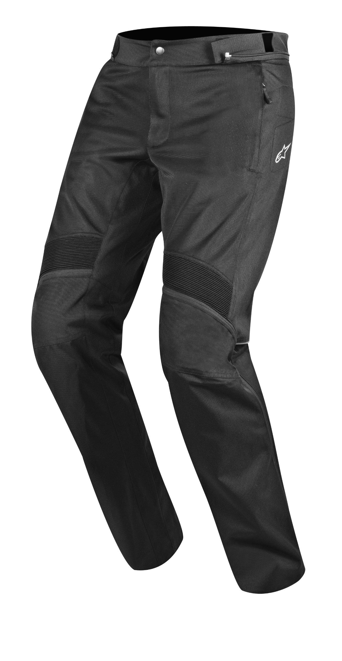 Alpinestars Oxygen Air Men's Sports Bike Motorcycle Pants - Black / Size Small