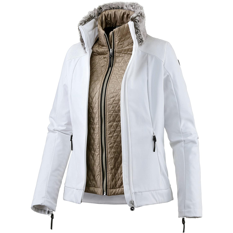 Blanc  Icepeak - Icepeak Celia Veste Ski Femme 3 en 1
