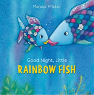 Rainbow fish deep sea adventure sticker and coloring storybook good night little rainbow fish fandeluxe
