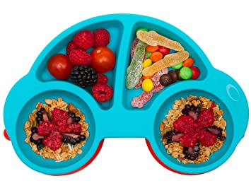 Portable Baby Plates for Toddlers Dishwasher and Microwa Qshare Toddler Plates