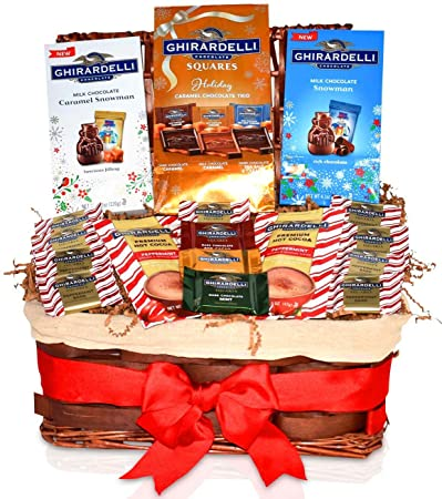 Ghirardelli Christmas Gift Basket Chocolate Variety Gift Pack Christmas Gifts For Family Friend