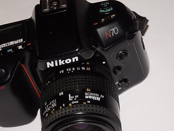 Analógico fotos - Nikon N70 - SLR Camera inclusive lente AF Nikkor ...