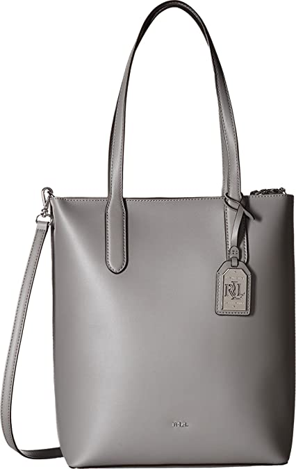 43db97cea1 Amazon.com  LAUREN Ralph Lauren Women s Dryden Alexis Tote Light  Grey Palomino One Size  Shoes