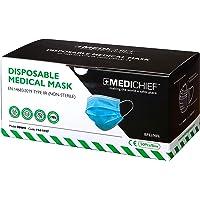 Medichief Type IIR Wegwerp medische gezichtsmaskers   Niet-steriel medisch gezichtsmasker (Pack van 50 stuks…