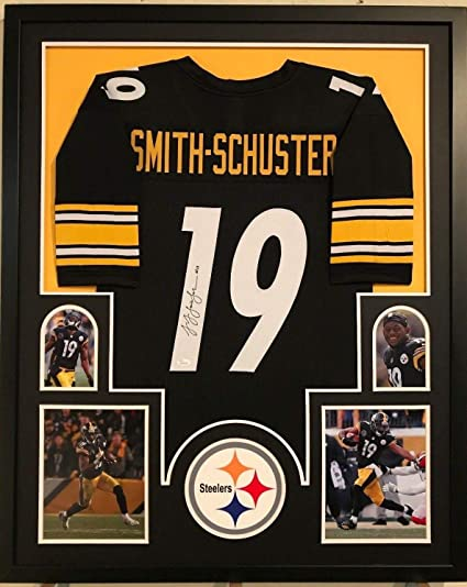 detailed look f83bb e84f2 FRAMED JUJU SMITH-SCHUSTER AUTOGRAPHED SIGNED PITTSBURGH ...