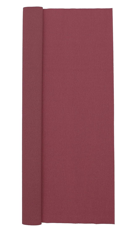 Burgundy Red Premium Extra Fine Italian Crepe Paper 60 g 13.3 sqft Crepe Paper Roll