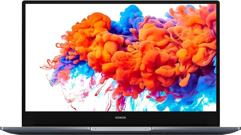 HONOR MagicBook 14 Ordenador portátil (AMD Ryzen 5 3500U, RAM de 8 GB, SSD de 256 GB, Radeon Vega 8, Pantalla FHD de 14 Pulgadas, Windows 10 Home, Teclado francés AZERTY) Space Grey 14