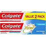 Colgate Total Whitening Toothpaste with Fluoride, Multi Benefit Toothpaste with Sensitivity Relief and Cavity Protection…