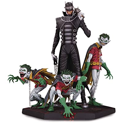 DC Collectibles Dark Nights Metal: The Batman Who Laughs & Robin Minions Deluxe Statue: Toys & Games