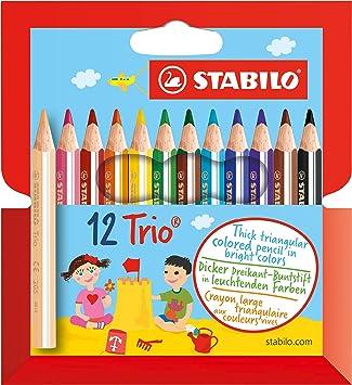 Marron Jaune Crafts Crayons 12 Pièces Dans Carton Painting Supplies