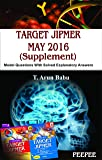 Target JIPMER MAY-2016 (Supplement)