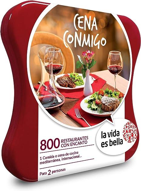 Smartbox Caja Regalo Gastronomía Cena Conmigo de La Vida es ...