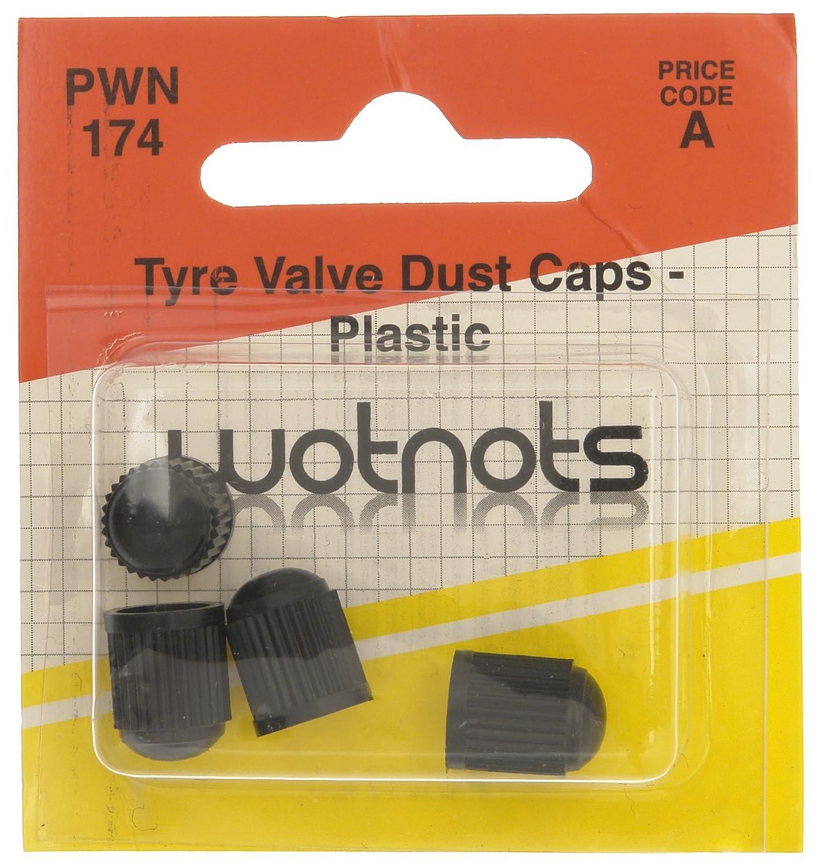 Pearl 4 cappucci antipolvere in plastica per valvole pneumatici PWN174