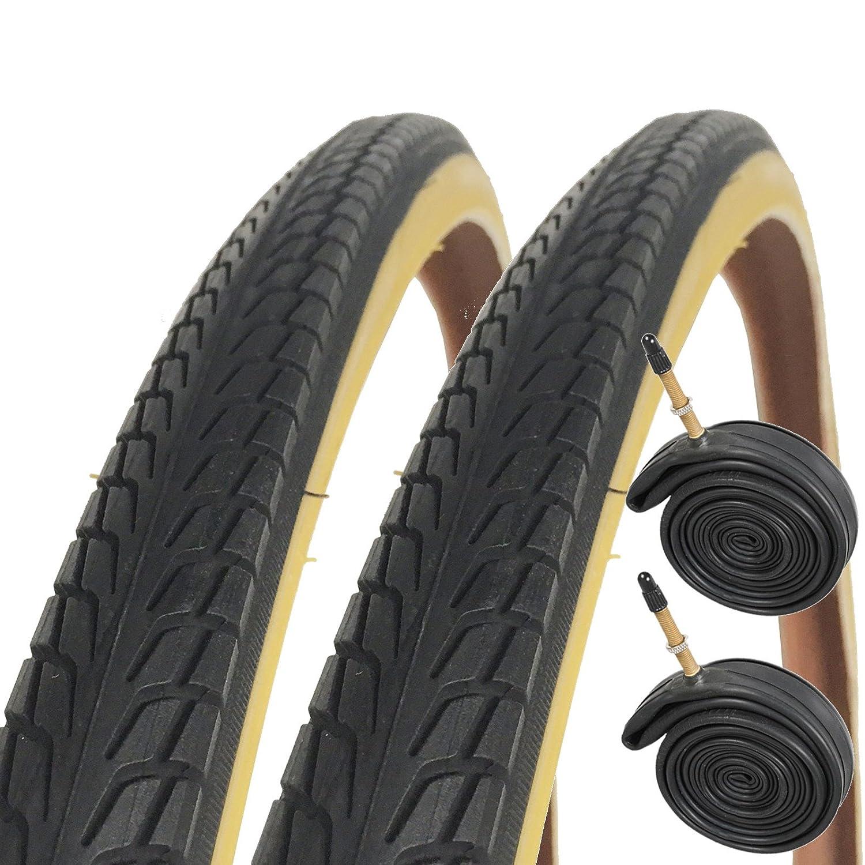 Raleigh CST T1531 flecha 700 x 38 °C híbrido bicicleta neumáticos con tubos Presta (par)