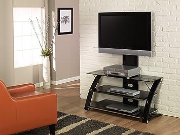 Amazon Com Z Link Zl56444mu Tv Stand For 44 Inch Tv Vitoria Glass