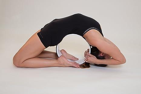 Yoga Wheel - Rueda para Yoga y guía de utilización, el ...