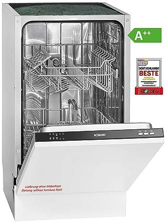 Bomann GSPE 891 Lavavajillas vollint egriert/A + +/197 kWh ...