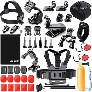 Amazon.com: ZOOKKI - Kit de accesorios para cámara deportiva ...