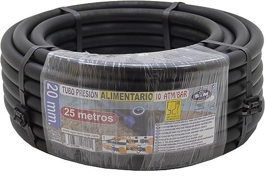 Tuber/ía goteo color negro. Suinga 12 mm x 100 m