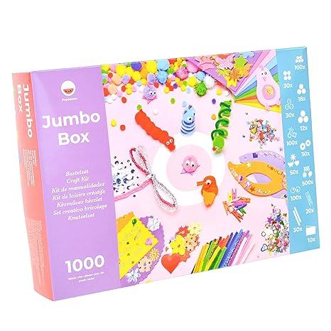 Pepmelon Jumbo Box Bastelset1031 Teilig Bastelanleitung Mit