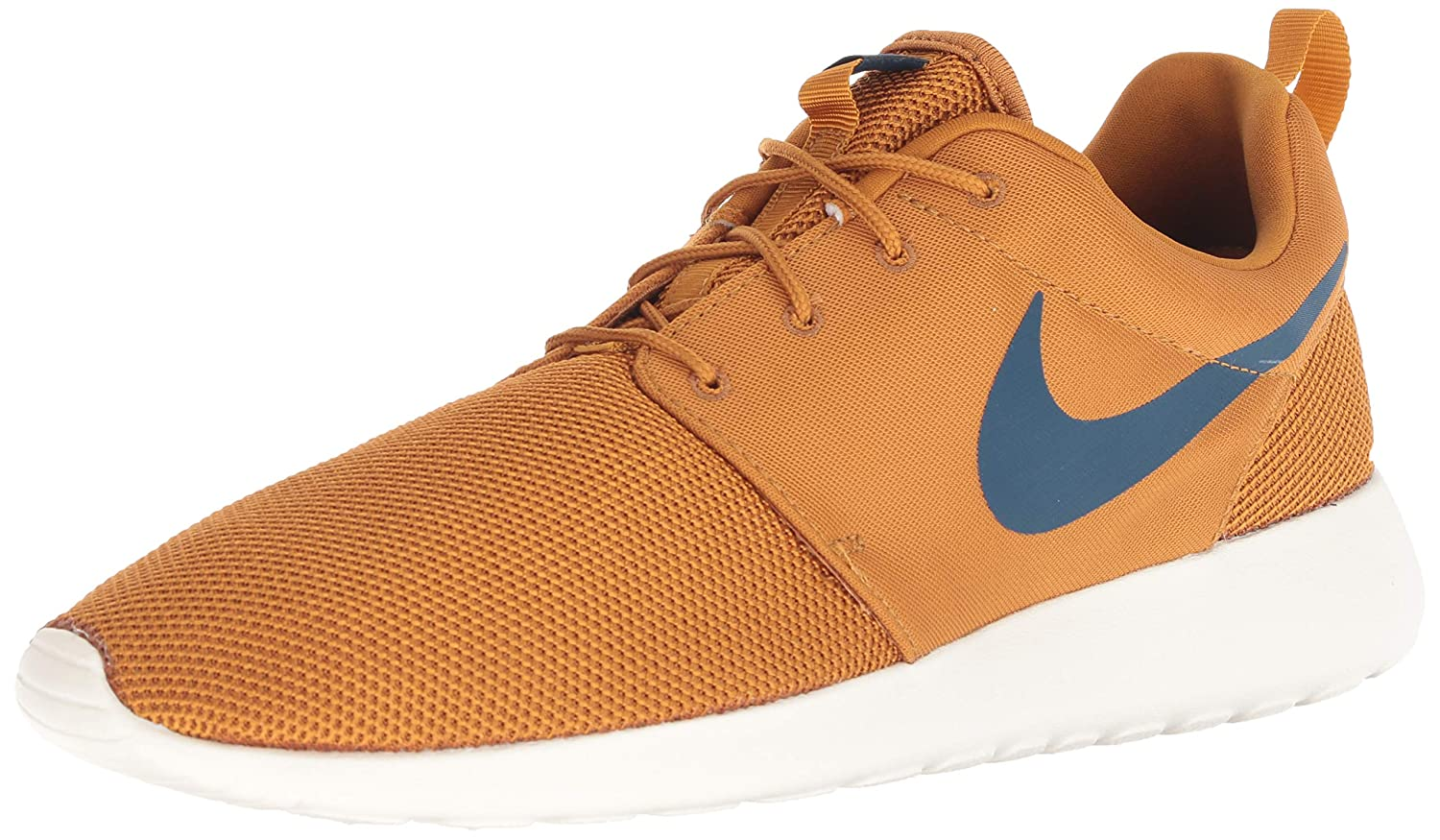 Nike Mens Roshe One Desert OchreBlue Force Sail 511881 700 (9.5 D US)