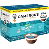 Cameron's Coffee Single Serve Pods, Decaf Breakfast Blend, 12 Count (Pack of 1)